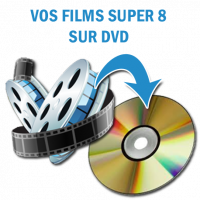 Films Super 8 sur DVD