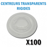 pions CD DVD Autocollant Rigides transparents
