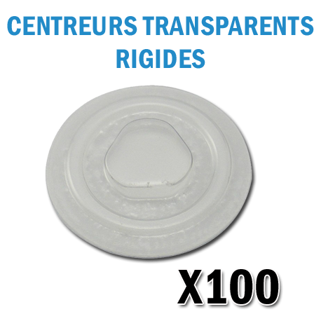 rosette CD DVD Autocollant Rigides transparents