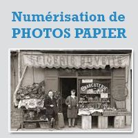 PHOTOS PAPIER NUMERISEES