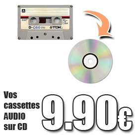 CASSETTE AUDIO SUR CD